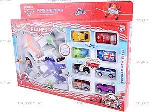 Набор самолетиков «Летачки» и машинок «Тачки», 5884, детские игрушки