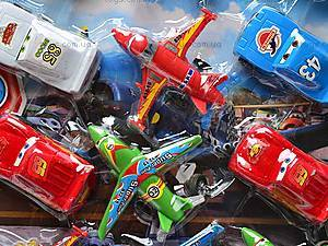 Набор самолетов и машинок «Тачки и Летачки», 832-15F, игрушки