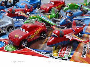 Набор самолетов и машинок «Тачки и Летачки», 832-15F, детские игрушки