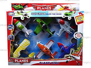 Набор  инерционных самолетов «Литачки», 198-6T, игрушки