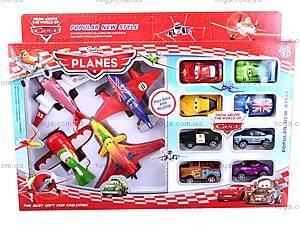 Набор самолетов «Летачки» и машин «Тачки», 5884-1, toys