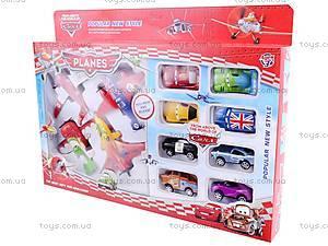 Набор самолетов «Летачки» и машин «Тачки», 5884-1, іграшки