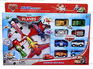 Набор игрушечных самолетов и машинок, 212-7A