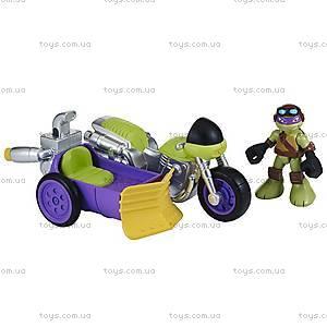 Малышки Черепашки-Ниндзя «Гоночный мотоцикл и фигурка Донни», 96702