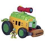 Набор серии Малыши Черепашки-Ниндзя «Фургон с Лео», 96771, фото