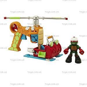 Малыши Черепашки-Ниндзя «Патрульный вертолет и фигурка Рафа», 96704