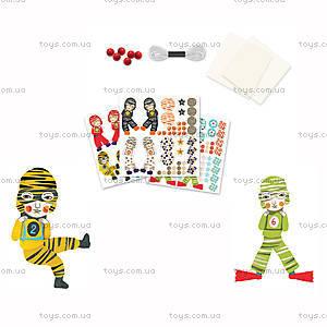 Набор шаблонов киригами «Мальчики с парашютом», DJ08772, купить