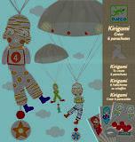 Набор шаблонов киригами «Мальчики с парашютом», DJ08772, фото