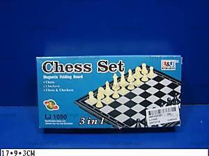 Набор «Шахматы, нарды, шашки», LJ1050