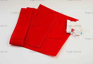 Детский набор для шитья из фетра «Яркие сердечки», 47787, купить