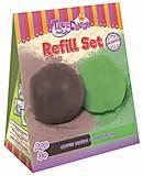 Набор смесей для лепки «Лаймово-зеленый и Кофейно-коричневый», 20005, магазин игрушек