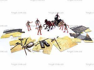 Набор солдатиков-рыцарей с аксессуарами, YT1002, цена