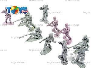 Набор солдатиков, с подставкой, 889-16A