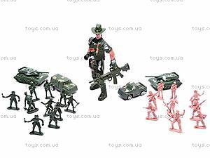 Набор солдатиков «Спецназ» в рюкзаке, 521-9
