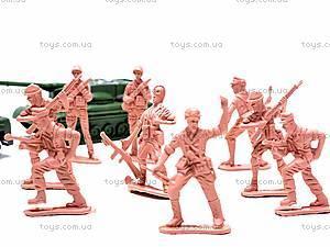 Набор солдатиков «Спецназ» в рюкзаке, 521-9, фото