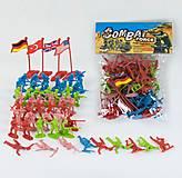 Набор солдатиков для военных игр, 7911, детские игрушки