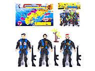 """Игровой набор солдатиков 4шт """"Combat"""" , 923-4, toys"""