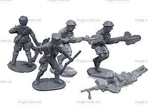 Игровой набор с солдатиками «Защитник №1», 1-042, отзывы