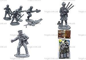 Игровой набор с солдатиками «Защитник №1», 1-042