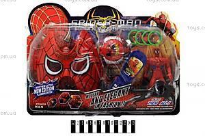 Игровой набор с маской «Спайдермен», 996A3