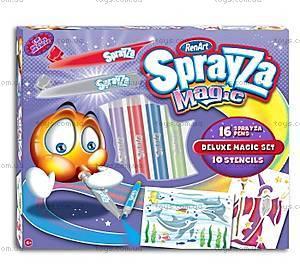 Набор Sprayza «Магическая аэрография Deluxe», SA2602UK(UA)