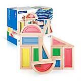 Набор стандартных блоков Guidecraft «Большая радуга» 10 штук, G3015, фото