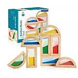 Набор стандартных блоков Guidecraft «Цветной песок», G3014