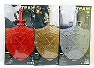 """Набор """"Страж"""" (щит и 1 меч) в ассортименте, 21233, игрушки"""