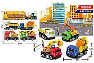Набор строительное спецтехники 4 штуки (399-89A4), 399-89A4, купить