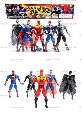 Набор фигурок супергероев, 666-5A