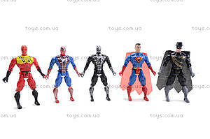 Набор фигурок супергероев, 666-5A, цена