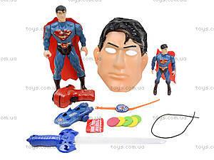Набор супергероев с маской, 1084E, игрушки