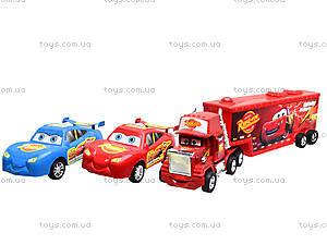 Детский набор инерционных машин «Тачки», 8899A, toys.com.ua