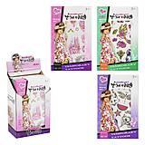 Набор тату для девочек Model Tattoo, 8101-36, купить