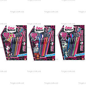 Набор тату с трафаретами Monster High, 1080-04311