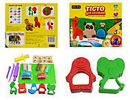 Детский набор с пластилином, 11004, фото