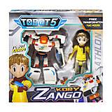 """Набор """"Tobot: Занго и Кори"""", Q1904"""