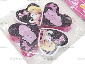 Набор точилок и ластиков Barbie, BRAB-US1-2204-H, купить