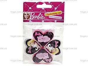 Набор точилок и ластиков Barbie, BRAB-US1-2204-H, фото