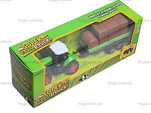 Игрушечный трактор с прицепом Farmer, 77037, отзывы