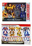 """Игровой набор """"Роботы-трансформеров"""" 2 штуки, 668-80, фото"""