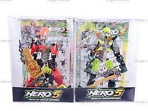 Детский игрушечный трансформер «Hero 5», 006-18, магазин игрушек