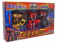 Набор трансформеров-роботов, 297-3, купить