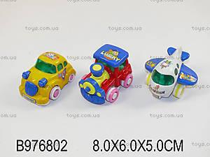 Набор «Транспорт», для малышей, HL90ABC