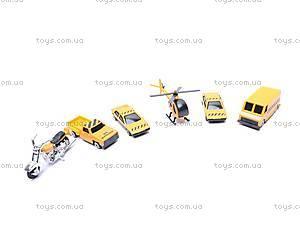 Набор транспорта, 6 игрушек, 00624