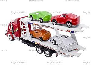 Набор «Трейлер с машинками», 218-5, купить