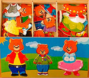 Развивающая игра «Три медведя», Д164, детские игрушки