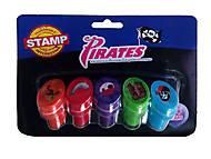 Набор «Веселые Штампики» пираты, SPS1668-5Br, купить