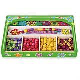 Набор Viga Toys «Ожерелье Цветы», 52730, фото