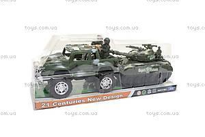 Набор военной техники «Машина и танк», 333, отзывы